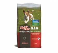 Makanan Anjing Migliorcane Professional Nutribene Adult Mini Beef and Veal 1,5kg 09804