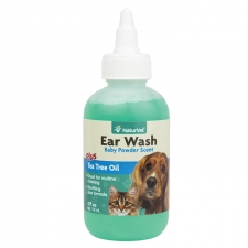NATURVET EAR WASH TEA TREE OIL 4OZ