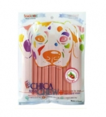 SNACK ANJING CHICA CHEW DENTAL 120GR STRAWBERRY