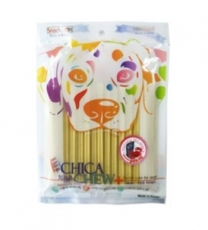 SNACK ANJING CHICA CHEW DENTAL 120GR GLUCOSAMINE