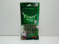SNACK ANJING POWER BONE BITE SMILE GREEN SMALL 15PCS