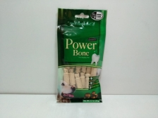 SNACK ANJING POWER BONE BITE SMILE WHITE SMALL 15PCS
