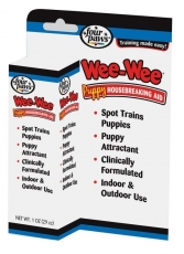 WEE-WEE PUPPY TRAINER HOUSEBREAKING AID DROPPER