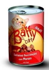Makanan Kucing Kaleng Baffy Cat Beef 415gr