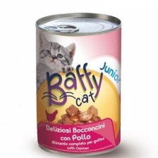 Baffy Cat Junior Chicken Kitten Setara Supercat