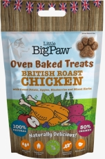 Oven Baked Treats British Roast Chicken for Dogs 130g