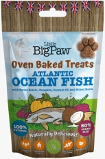 Oven Baked Atlantic Ocean Fish Treats for Dogs 130g