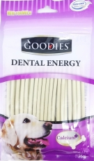 Snack Anjing Goodies Dental Energy Treat Stick Shape Milk 125gr