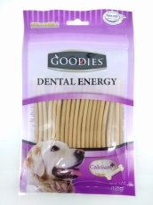 Snack Anjing Goodies Dental Energy Treat Stick Shape Liver 125gr