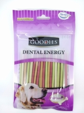 Snack Anjing Goodies Dental Energy Treat Stick Shape Mix 125gr
