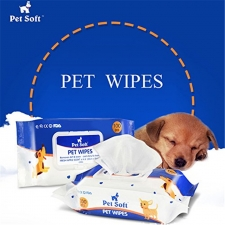 Pet Wet Tissue 100 Sheets