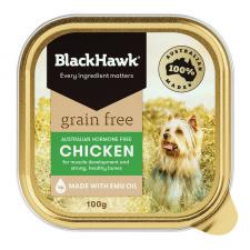 Makanan Basah Anjing BlackHawk Grain Free Chicken 100gr