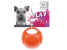Mainan Anjing M-Pets Arco Ball Dog Toy Orange