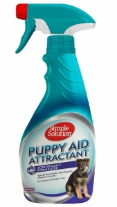 Cairan Pelatih Buang Air Simple Solution Puppy Aid Attractant Training Spray 16oz
