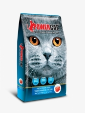 Makanan Kering Kucing Power Cat Dry Food Fresh Tuna 500gr
