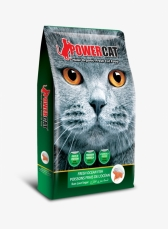 Makanan Kering Kucing Power Cat Dry Food Fresh Ocean Fish 500gr