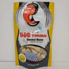 Spirit Big Tongue Dental Bone Cheese Ham Flavor 100gr