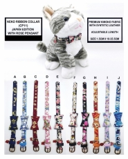 Kalung Kucing CP Cat Collar Japan Edition with Ribbon