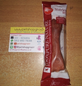 Snack Anjing Orgo Premium Nutrition Teeth-Nutrients Beef Grinding Bone 4