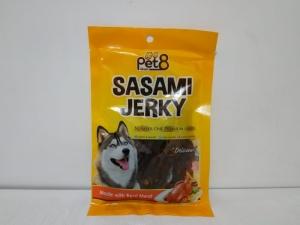 Pet8 Sasami Jerky Soft Chicken Slice 50gr