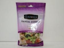 Snack Anjing Goodies Dental Energy Cut Bone Shape Milk 125gr