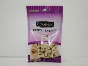 Snack Anjing Goodies Dental Energy Cut Bone Shape Mix 125gr