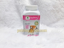 Vitamin Kesehatan Kulit, Bulu, Sendi, Kolesterol, Imun Green Pett BioDerm 250gr