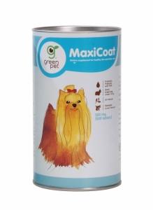 Vitamin Bulu Anjing Green Pett MaxiCoat Dog Small Breed 500mg 2000 tab