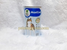 Vitamin Bulu Anjing Green Pett MaxiCoat Dog Medium & Large Breed 2.5g 100 tab