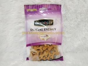 Snack Anjing Goodies Dental Energy Cut Bone Shape Liver 125gr