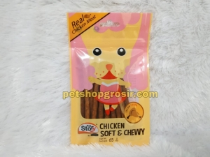 Snack Anjing Goodies Pet Story Soft & Chewy Chicken 65gr