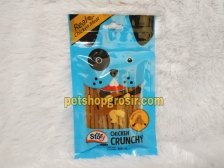 Snack Anjing Goodies Pet Story Chrunchy Chicken 65gr