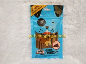 Snack Anjing Goodies Pet Story Chrunchy Liver 65gr