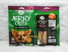 Snack Anjing / Dog Treats Wujibrand Jerky Cuts Bacon 70gr