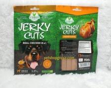 Snack Anjing / Dog Treats Wujibrand Jerky Cuts Chicken Strip 70gr