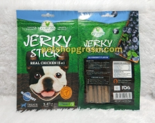 Snack Anjing / Dog Treats Wujibrand Jerky Stick Blueberry 70gr