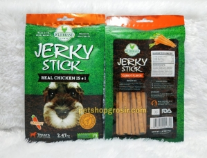 Snack Anjing / Dog Treats Wujibrand Jerky Stick Carrot 70gr