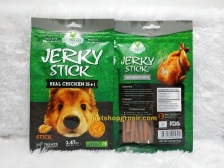 Snack Anjing / Dog Treats Wujibrand Jerky Stick Chicken Stick 70gr