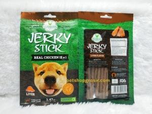 Snack Anjing / Dog Treats Wujibrand Jerky Stick Liver 70gr