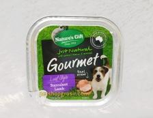 Makanan Basah / Kornet Anjing Nature's Gift Gourmet Succulent Lamb Loaf Style 100gr