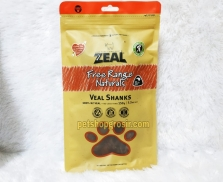 Snack Anjing Grain Free Zeal Treats Free Range Naturals Veal Shanks 150gr