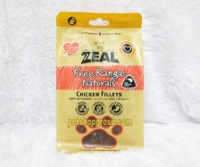 Snack Anjing & Kucing Grain Free Zeal Treats Free Range Naturals Chicken Fillets 125gr