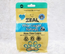 Snack Anjing & Kucing Grain Free Zeal Treats Wild Caught Naturals Hoki Fish Cubes 125gr