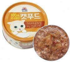 Makanan Basah / Kaleng Kucing Sajo Catfood Katsuobusi 90gr