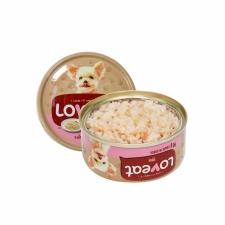 Makanan Basah / Kaleng Anjng Loveat Dogfood Salmon 90gr