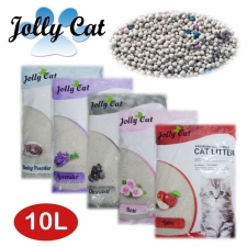 Pasir Kucing Gumpal Wangi Jolly Cat Sand Litter Bentonite 10L