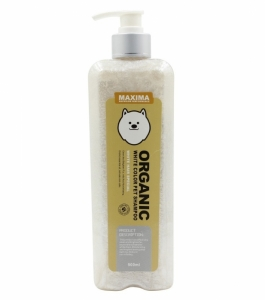 Shampoo Anjing Bulu Putih Maxima Organic White Dog Shampoo 500ml
