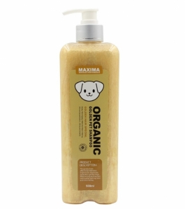 Shampoo Anjing Bulu Pirang / Emas Maxima Organic Golden Dog Shampoo 500ml