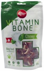 Ogo Beef and Vege Freshening & Cleaning Dental Bone 100gr