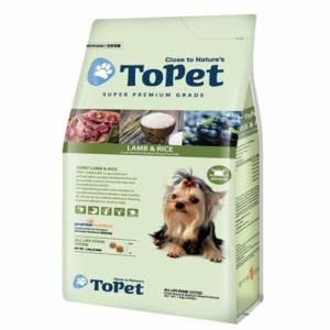 Jual Makanan Kering Topet Dog Food Lamb & Rice 1,2kg